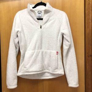 The North Face | Off white half zip fleece